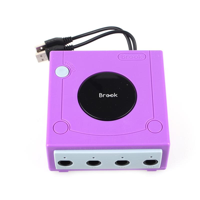 GameCube GC Controller Adapter USB Plug Connector Box For PC WiiU Console GC Joysticks Adapter(China (Mainland))
