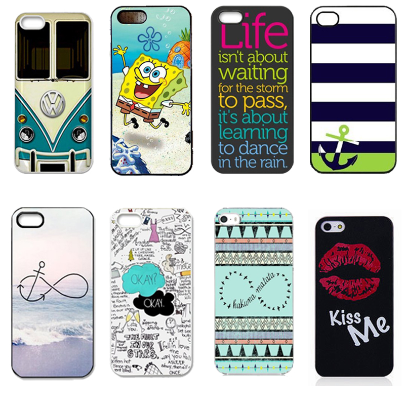 Funny VW Volkswagen Bus The Fault In Our Stars Okay O.K Durable Printing Hard Protective Phone Case Cover for Apple iPhone 5 5s(China (Mainland))