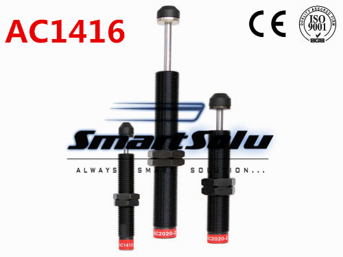 free shipping 1pcs AC1416 M14x1.5 Pneumatic Hydraulic Shock Absorber Damper 16mm stroke(China (Mainland))
