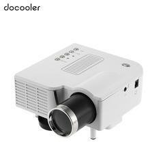 White Mini LED Projector HDMI Home Cinema Theater Digital Video Game Projectors Multimedia Player AV VGA USB SD(China (Mainland))