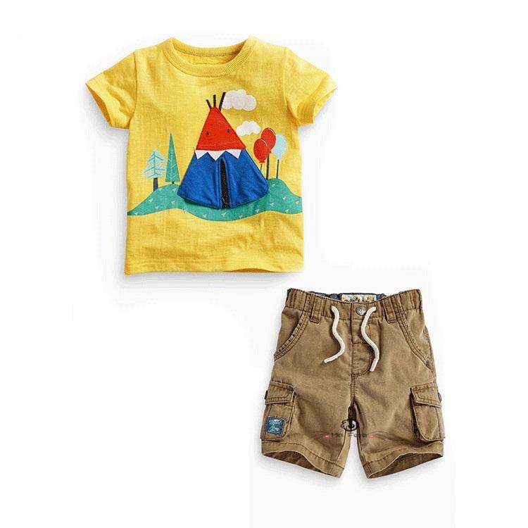 TG677 2016 summer Children s clothing fashion baby boy s