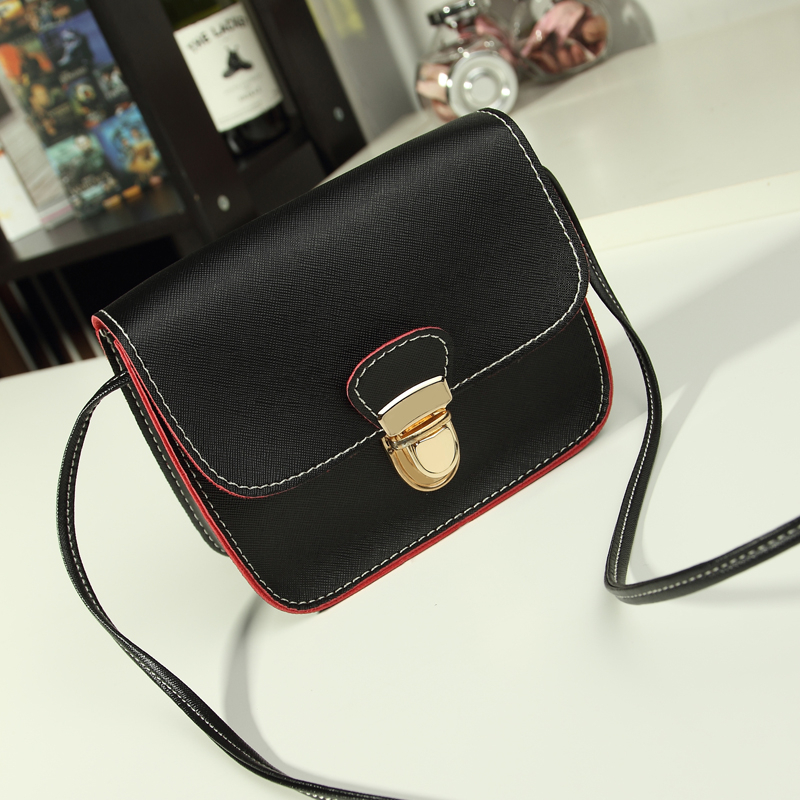 casual vintage small leather flap handbags hotsale ladies party purse