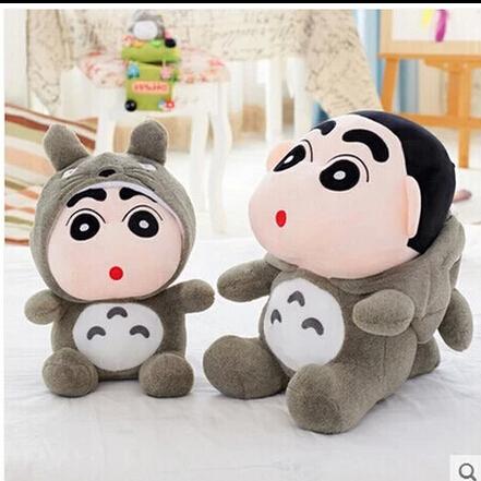 35cm Crayon Shin Chan Crayon Mascot Plush Toy Doll Cute Soft Totoro Plush Toys Doll Best Gift(China (Mainland))