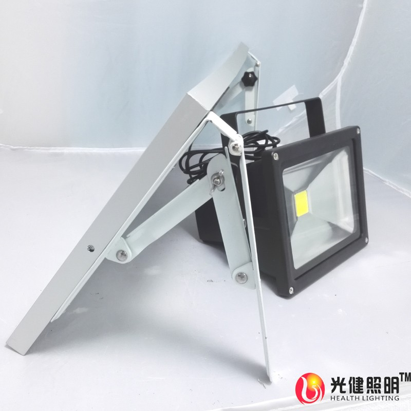 20W led running 12 hours automatic photoswitchable induction solar light waterproof light-operated flood light