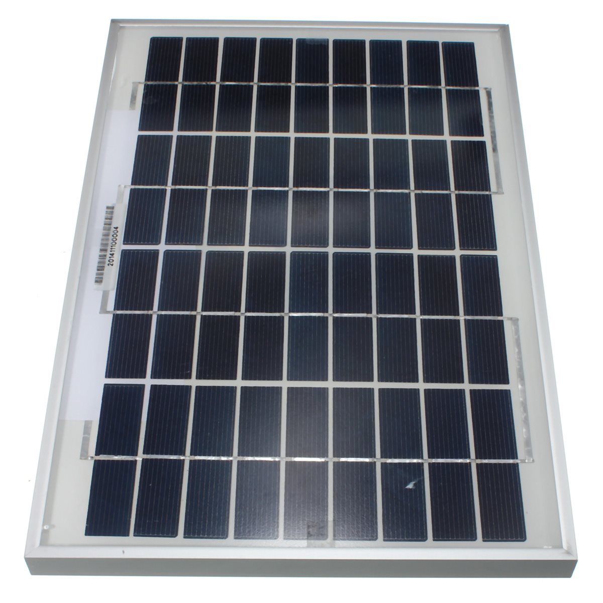 Hot Sale 10W 12V PolyCrystalline Solar Panel  Poly Module For RV Boat Cells Battery Power Charger  345x230x18mm
