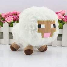 15CM  Minecraft Plush sqid plush Baby sheep Toys enderman Creeper Plush(China (Mainland))