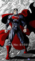 """45 Superman Man of Steel 2013 movie 24""""x42"""" inch wall Poster with Tracking Number"""