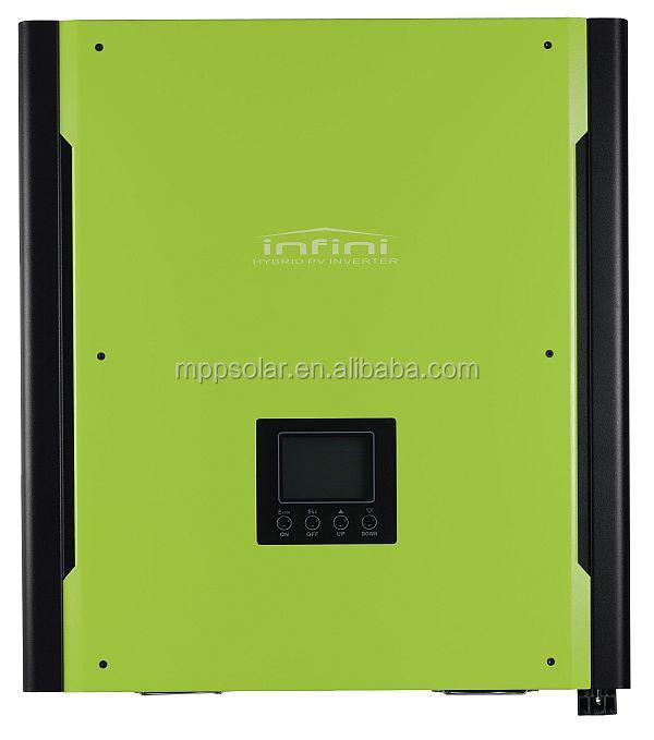 Hybrid Solar inverter 3000w with max PV input 4500w on grid off grid solar inverter with battery bank up(Taiwan)