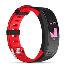 Sporch P5 GPS Фитнес браслет сердечного ритма Мониторы Smart Band смарт часы браслет телефон трекер для iOS и Android(China)