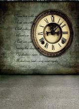 Wedding photography background cloth nostalgic background studio photo wall clocks 3250 restoring ancient ways