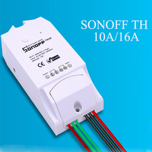 Buy Original Itead Sonoff TH 10A/16A Temperature Humidity Monitor Sonoff Smart Wifi Switch Wireless Smart Home Controller Set for $7.59 in AliExpress store