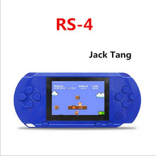 Free shipping  Coolboy  machine 300 difrrent game yakuchinone rs-4 color screen handheld game consoles handle double charge
