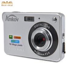 "AMKOV 800-C3 2.7"" TFT LCD Screen 16.0MP 720P 4X Digital Zoom DC Digital Camera Professional with SD Card Slot  CMOS Image Sensor(China (Mainland))"