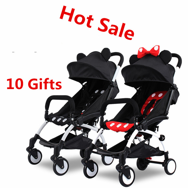 yoya Ultra Light Folding Baby Stroller pram Shock Absorbers Bb Wheel Car Umbrella Troller with 10 Accessories(China (Mainland))