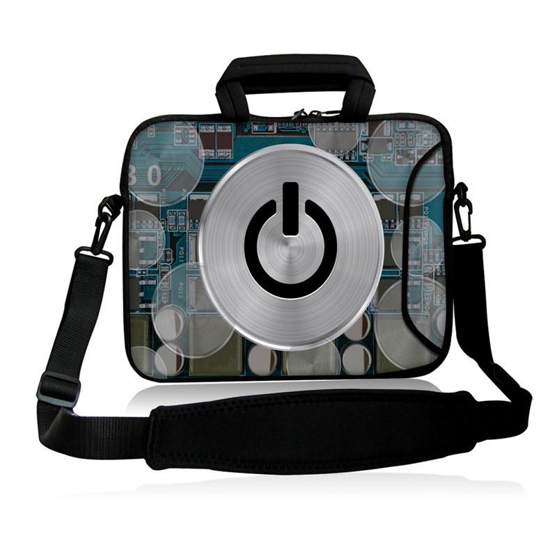 "CD Shutdown Sign Model 10""13""14""15""17"" Laptop Sling Neoprene Messenger Satchel Bag Shoulder Cover Case Computer Kits For Intel(China (Mainland))"