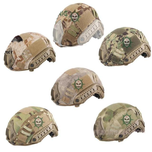 Tactical Airsoft Paintball Fast Helmet cloth Cover for BJ/PJ/MH Type FAST Helmet 8 Color choose(China (Mainland))