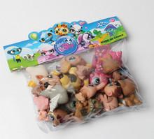 20pcs/1lot petshop cartoon pet shop patrulla canina toys action figure toy #778 minifigure christmas gift to kids