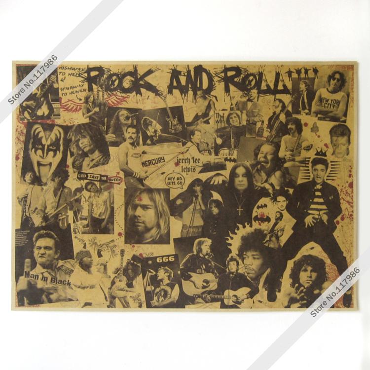 Poster Classic Rock Band Big