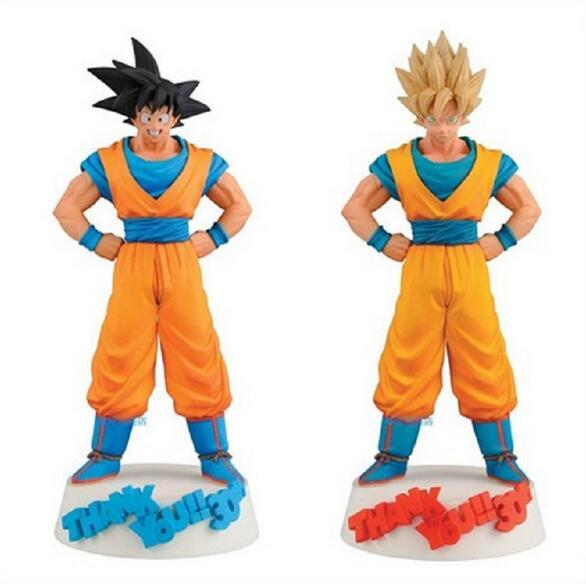25cm Dragon Ball Z 30th Son Goku Super Saiyan Action Figure PVC Collection figures toys for christmas gift brinquedos<br><br>Aliexpress