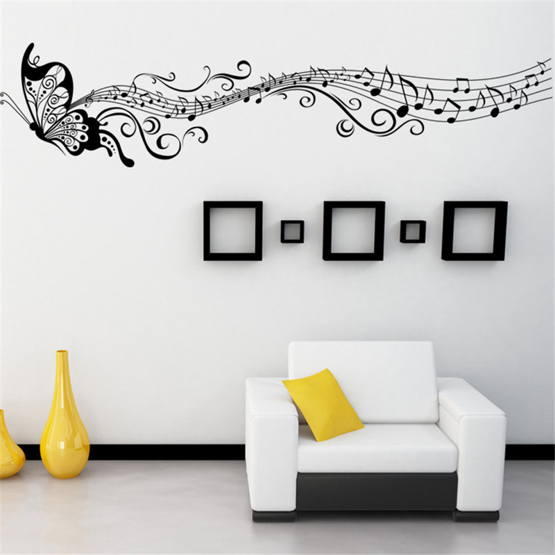 Buy Hot Butterfly And Dancing Note Wall