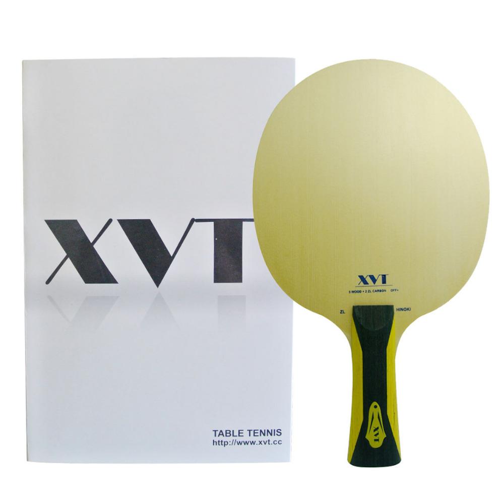 SALE XVT High-End ZL Hinoki ZLC Carbon Table Tennis Blade/ ping pong blade/ table tennis bat Send Whole bag(China (Mainland))