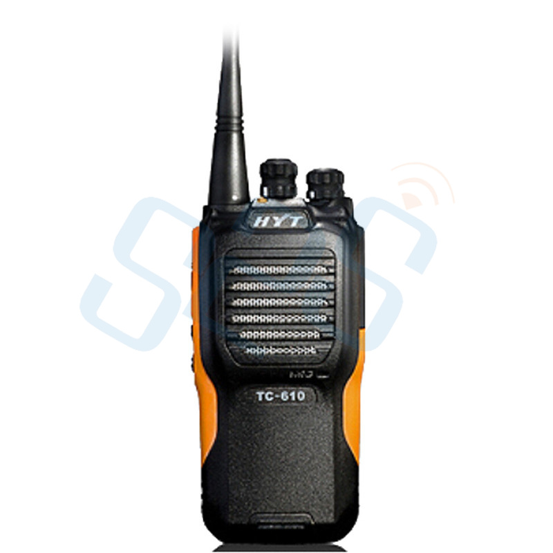 New Transceiver WalkieTalkie HYT TC-610 5W VHF:136~174 MHz Two way Radio WITH DOCK CHARGER TC-610(China (Mainland))