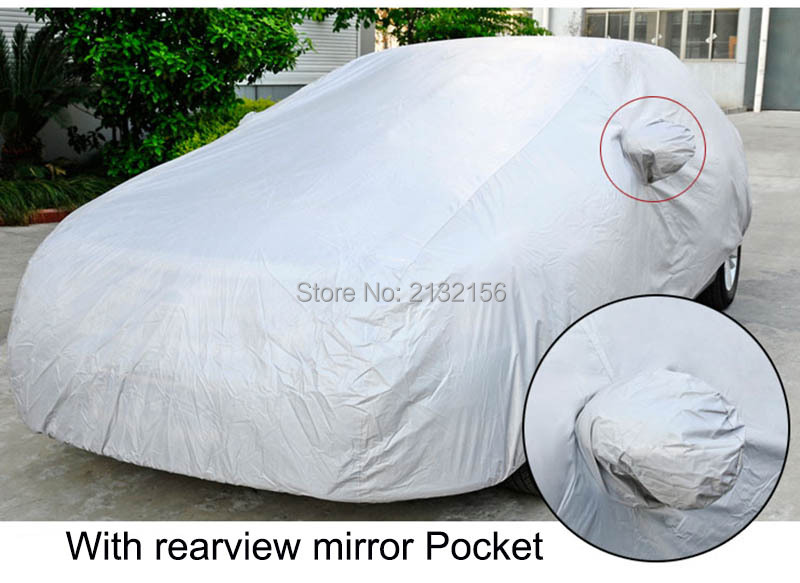 Sedan Car covers for BMW 3 5 6 series 3 5 series GT sunshade dustproof Anti-UV Resistant snow car cover full protection