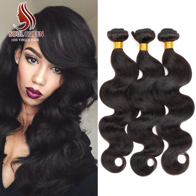 3 Bundles Peruvian Virgin Hair Body Wave Human Hair Weave 6A Unprocessed Xuchang Hair Extension Wholesale Peruvian Body Wave(China (Mainland))
