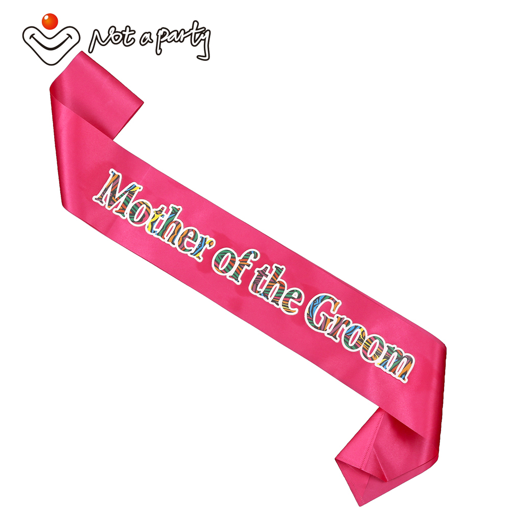 60% off for 3pcs Wild colorful sash for bachelorette party Hen nights bridal team favor wedding accessories events supplies(China (Mainland))