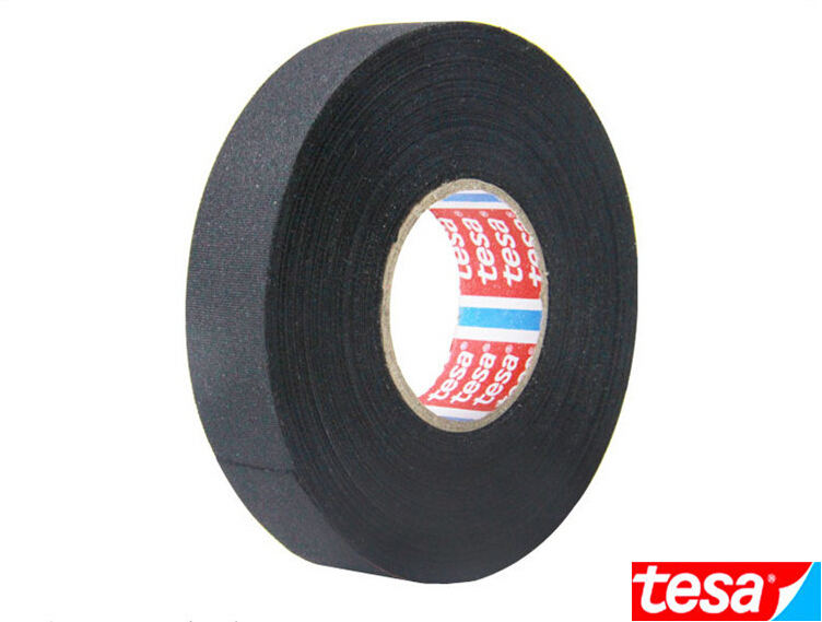 STRONG TESA 51026 19mm x 25m, Adhesive Cloth Fabric double sided tape cable looms,wiring harness for Auto(China (Mainland))