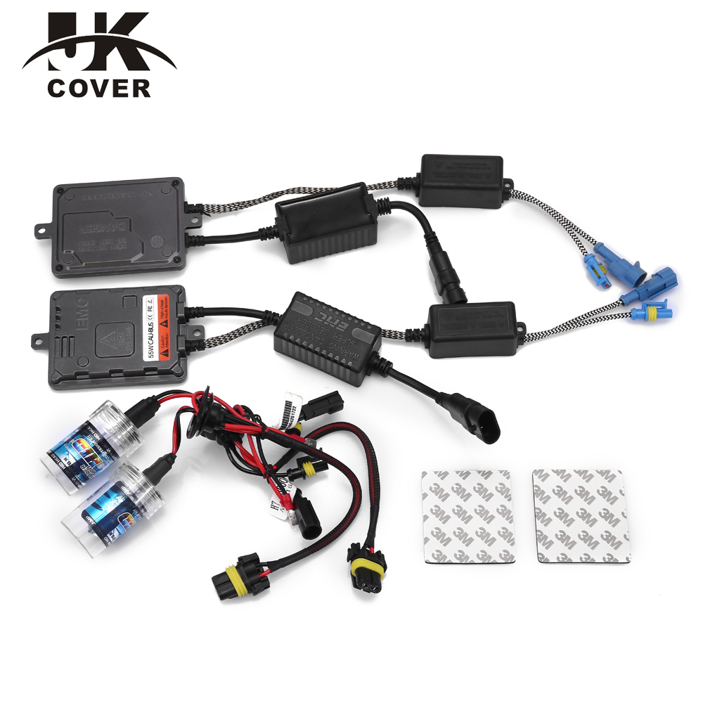 1 Year Warranty - Canbus HID Xenon H1 H3 H4 H7 H11 9005 HB3 9006 HB4 55w AC Can-Bus Xenon Kit For Honda Civic Headlight(China (Mainland))