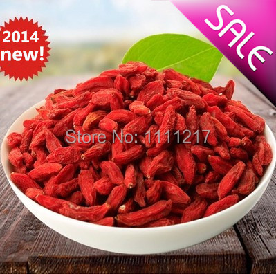 2015 New Ningxia Pure Goji 500g Berries Certified Organic Chinese Medlar, Healthy Berry Best Food Dried Fruit In Blooming Tea(China (Mainland))