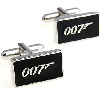 Free shipping 3pairs/lot  brand new copper CUFFLINKS wholsale&retail anti-oxidation material 007 design  100% guaranteed quality