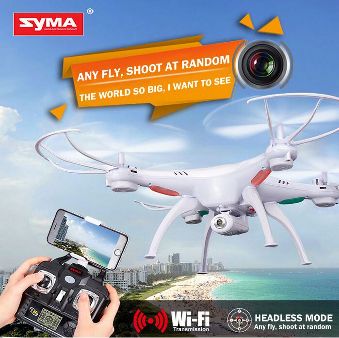 Free shipping Orignal Syma X5SW drone with HD camera 2.4Ghz 4CH quadcopter with 2.0MP HD wifi real time video camera helicopter <br><br>Aliexpress