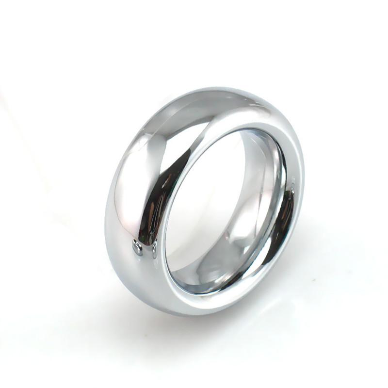 18 мм ширина нержавеющей 9 мм толстая металлическая мошонки кольцо кольцо крана задержать эякуляцию пениса cockring