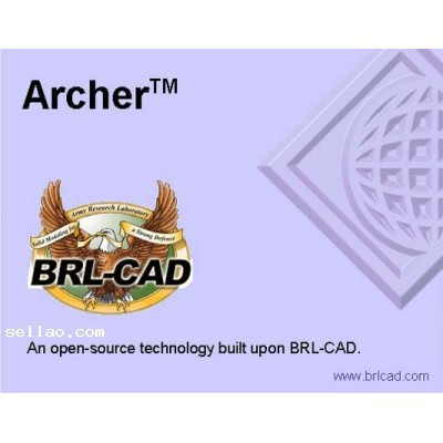 100% Working Full Function Software BRL-CAD for veket 7.22 English language(China (Mainland))