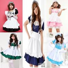 Kaichou Wa Maid-Sama Anime Cosplay Costume kawaii lolita dress different color