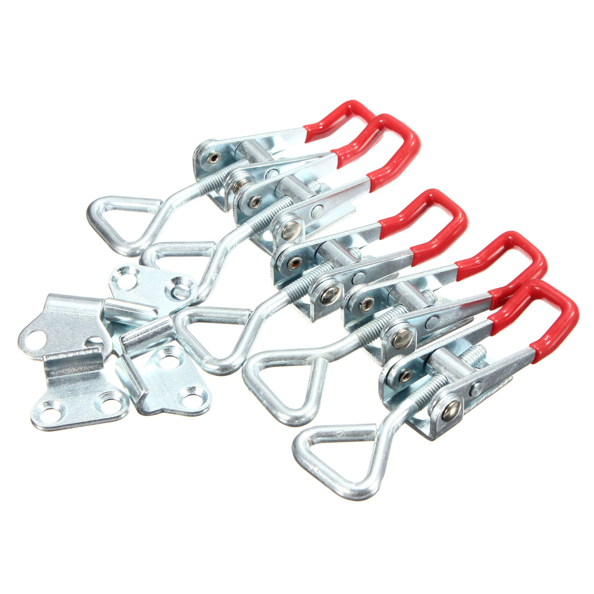5pcs Adjustable Quick Holding Capacity Latch Hand Tool Toggle Clamp 100KG/220lbs Galvanization Adjustable Fixture(China (Mainland))