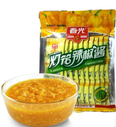 Гаджет  antern capsicum catsup 300g Chili sauce hot spicy Condiment Yellow pepper sauce Hainan specialty chinese food None Еда