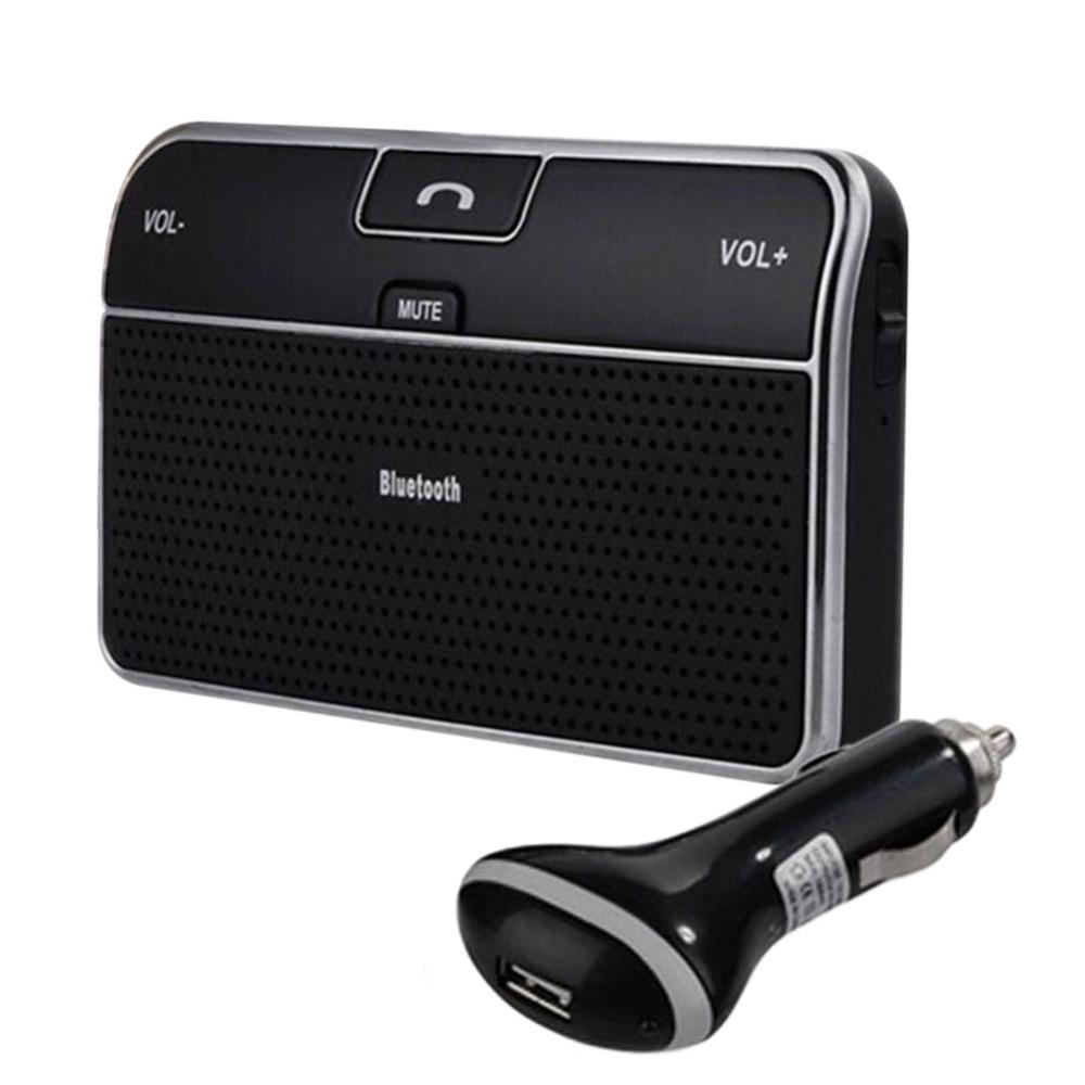 Car Kit Bluetooth Handsfree Vehicle Speakerphone V4.0 Multipoint Wireless Wireless In-car Speakerphone Free Shipping(China (Mainland))