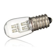 Buy Hot Sale 0.5W 4 LED E12 E14 Base LED Bulb Candle Candelabra Light Lamp Bulb Pure Warm White Non Dimmable AC120V/220V for $1.46 in AliExpress store