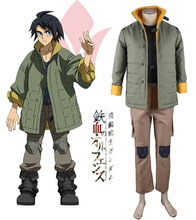 Mobile Suit Gundam: Iron-Blooded Orphans Tekkadan Iron Flower Mikazuki Augus Uniform Anime Cosplay Costume