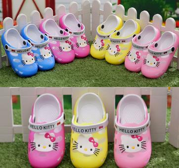 Summer children slippers boy sand hole hole shoes Baby girls antiskid breathable jelly garden sandals a001b(China (Mainland))
