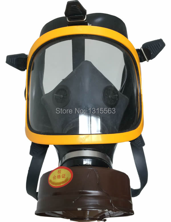 Free shipping can resistant Hydrogen chloride, hydrochloric acid, chlorine gas respirator gas mask<br><br>Aliexpress
