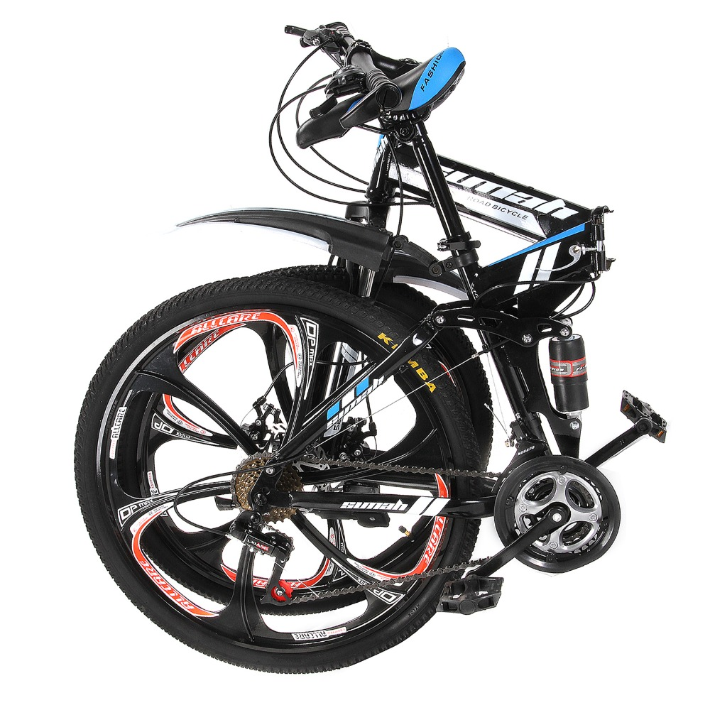 """Land Rover paragraph mountain bike 21 Speeds 26"""" aluminum alloy folding variable speed cycling double vibration damping brakes(China (Mainland))"""