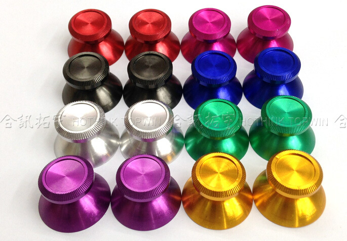 10 Replacement metal button Analog Thumbsticks Joysticks Cap cover PS4 wireless controller - TOPWin video game repair store