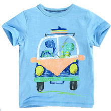 Branded 100% Cotton Boys Clothing Toddler Children Kids Clothes Tees Printing T-Shirt Short Sleeve Boys Summer Tops