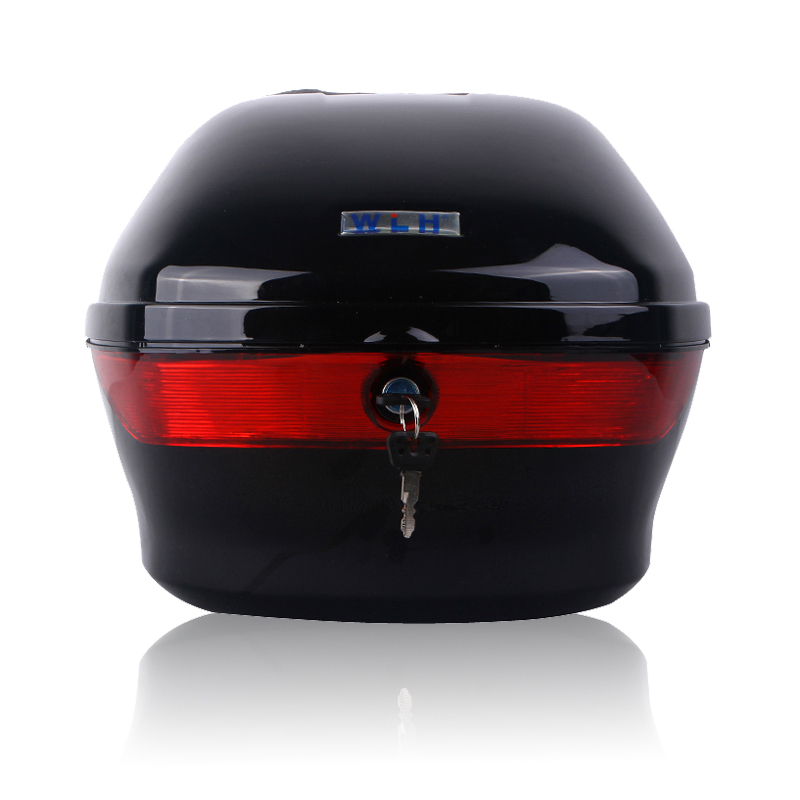 WLH 26L E-107 motorcycle tail box electric bicycle trunk scooter top case(China (Mainland))