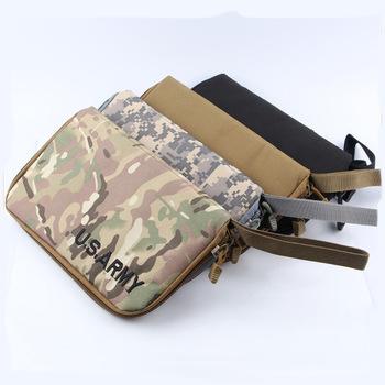 Airsoft Tactical Military Portable Handgun Holster Pistol Carry Bag Pouch Pistol Hand Gun Soft Case 4 Colors(China (Mainland))