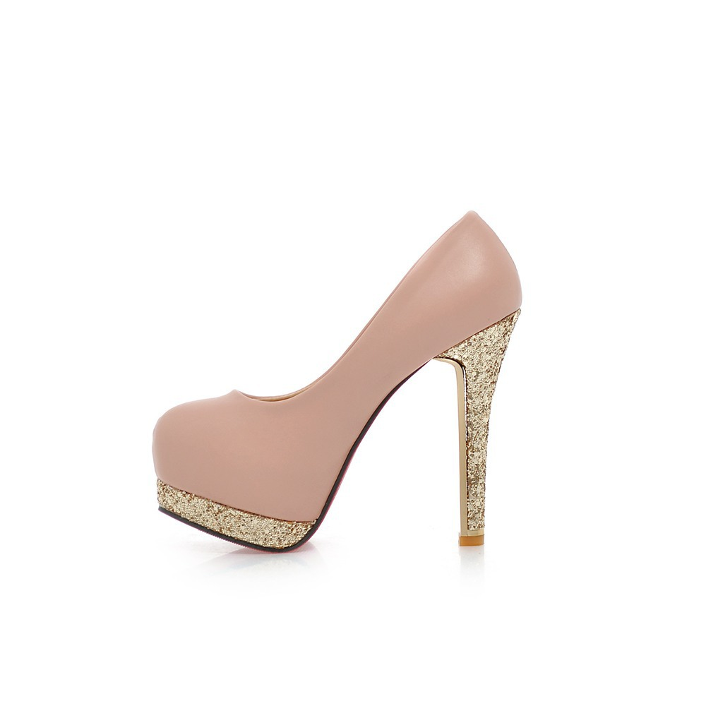 Pink Heels With Diamonds